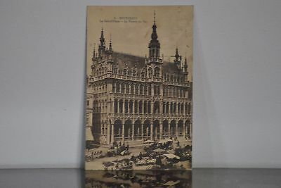 Carte Postale Grand Place Bruxelles En 1923