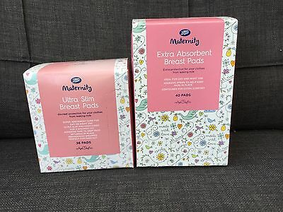 76 Boots Extra Absorbent and Ultra Slim Breast Pads