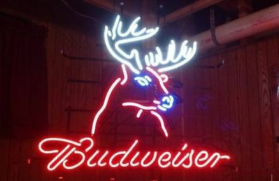 "New Budweiser Deer Neon Sign 20""x16"""