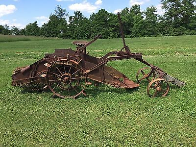 International Harvester Potato Digger Tractor or Horse Pull BARN FIND SUPER NICE