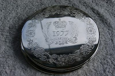 Silver Plated Vintage Large ~ 3 Placemats engraved the queens silver jubilee