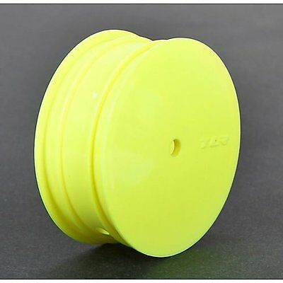 Front Wheel, 12mm Hex, Yellow (2): 22 3.0 TLR43010 Team Losi