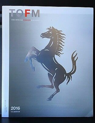TOFM The Offical Ferrari Magazine  #34 2016 Yearbook