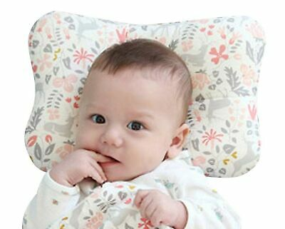 Baby Pillow For Newborn Breathable 3-Dimensional Cool Air Mesh Organic Cotton, P
