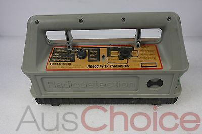 Radiodetection RD400 FFTx Transmitter Cable Fault Locator w FFL2 Reciever