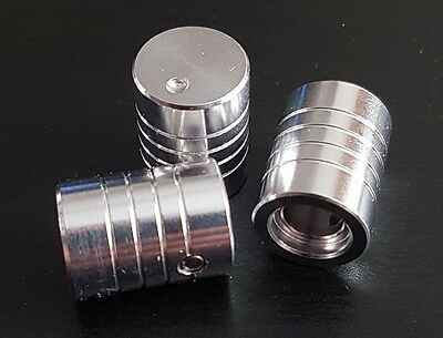 "Solid Aluminium Potentiometer Knob for 6.35mm (1/4"")/6.00mm Shaft 12.5x17mm Tall"