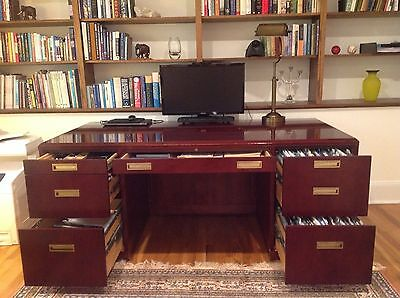 PAOLI INC Double pedestal executive desk