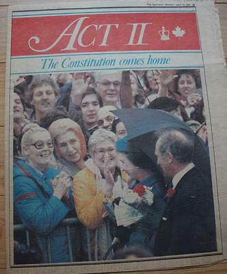 Constitution Comes Homes, special April 19, 1982 The Spectator news