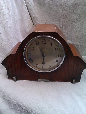 A Large Westminster Chime Mantle Clock In Full Working Order