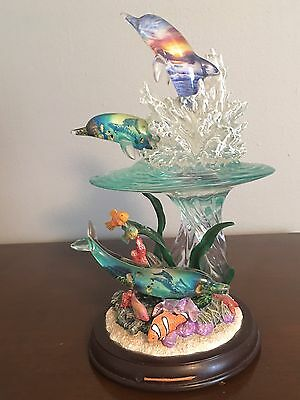 Christian Riese Lassen Reflections Of Paradise Dolphin Figurine Limited Edition
