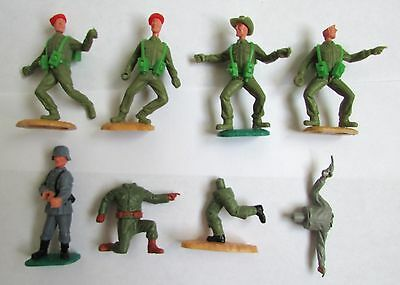 Timpo soldiers and spares
