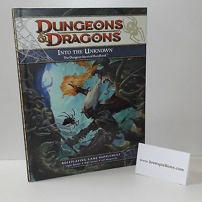 Dungeons & Dragons - D&D 4.0 - Into the unknown *Neu & Rar*