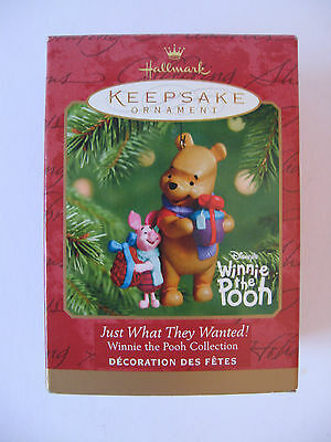MIB/NEW Disney's WINNIE THE POOH Just Want They Wanted! Collection Ornament