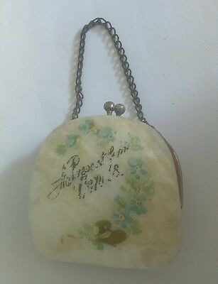 Beautiful Shell purse, old. vintage? Antique?