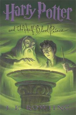 Harry Potter and the Half-Blood Prince BOOK 6 hardcover J K Rowling FREE SHIP jk