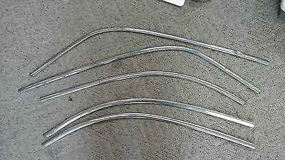 51 Chevy Stainless Window Moldings