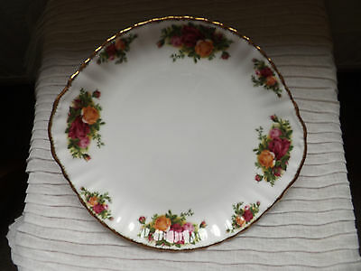 Royal Albert Old Country Roses Bone china cake/bread plate 1st