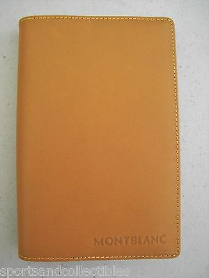Montblanc Notepad Natural Leather Brand New Old Stock No Box