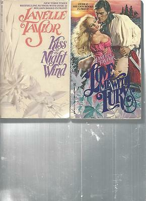 Janelle Taylor - Kiss Of The Night Wind - A Lot Of 2 Books