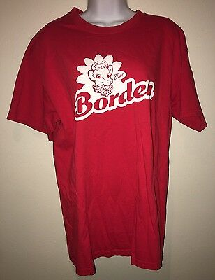 RARE BORDEN'S ELSIE THE COW T-Shirt Red Advertising Milk