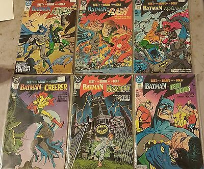 Best Of The Brave And The Bold #'s 1-6 Vf/nm