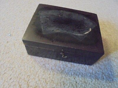 Vintage  Brook's Thread Wooden Box Wilcox & Gibbs