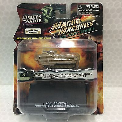 Forces Of Valor • Macho Machine Series • U.s. Aavp7A1 Amphibious Assault Vehicle