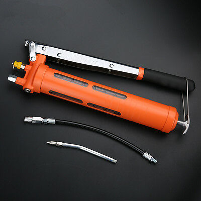 Industrial High pressure Manual Grease gun Heavy excavator Oil  injector W136