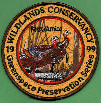 Pa Game Fish related 1999 Wildlands Conservancy Greenspace Preservation patch