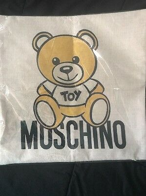 Moschino Toy Baby Cushion Pillow Nursery Decor