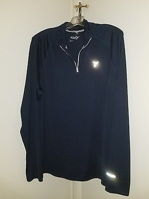 Men's Old Navy Jacket, Lightweight, Size L, Blue, 1/2 Zip