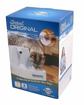 Drinkwell Original Pet Fountain Dog & Cat - Continual Fresh Water Bowl w/ Filter