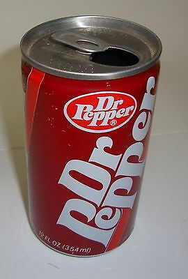 1986? Solid Bar Dr Pepper Soda Can