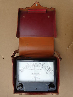 Vintage Simpson Model 388 Therm-O-Meter with Case