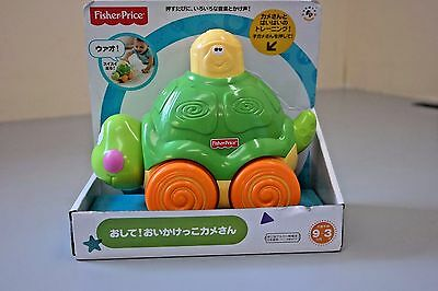 Fisher-Price Go Baby Go! Press And Crawl Turtle  NEW (C3)