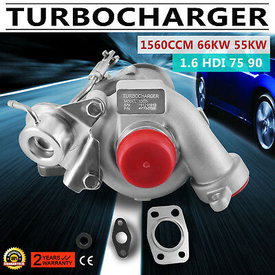 TD025 Turbo for Citroen Ford Peugeot 1.6HDI 49173-07508 49173-07507 90HP CMAX