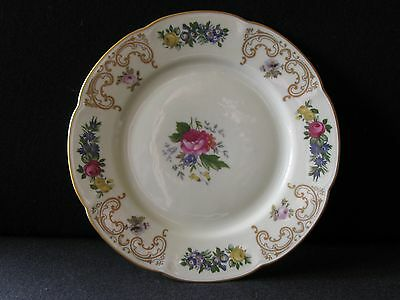 """Set of 4 Royal Bayreuth 6"""" Bread and Butter Plates Pattern ROB15 - Excellent"""