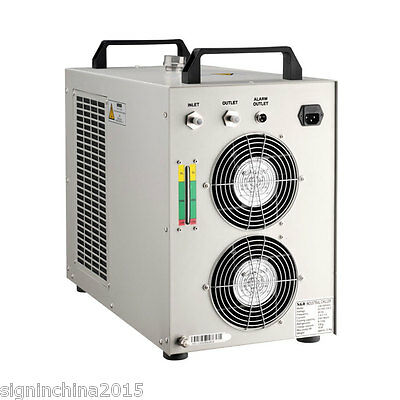 110V/ 60Hz CW-5000DH Water Chiller for One  5KW Spindle or Welding Cooling