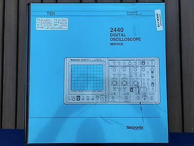 Tektronix 2440 Oscilloscope Printed Service Manual