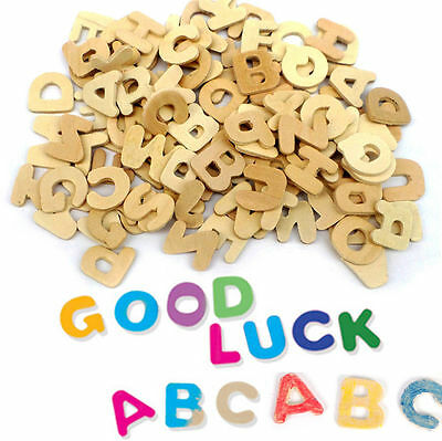 Wooden Letters Small Wooden Alphabet Letters DIY Wooden Alphabet for Kids
