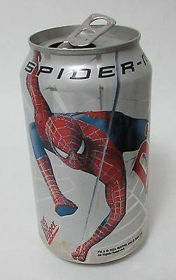 2002 Spiderman Swinging Diet Dr Pepper Soda Can