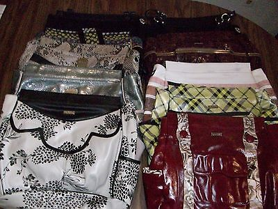Miche purses, lot of 10, eight shells, 2 base bags