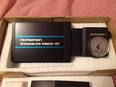 Horseman Exposure Meter 45 with box - near MINT condition!