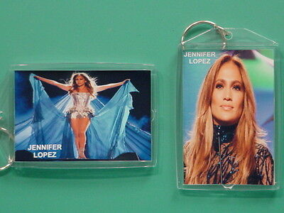 JENNIFER LOPEZ - with 2 Photos - Designer Collectible GIFT Keychain