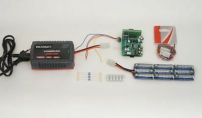 Zenner Locomotive WiFi Retrofit Kit with Charger, Battery, Train Line 45