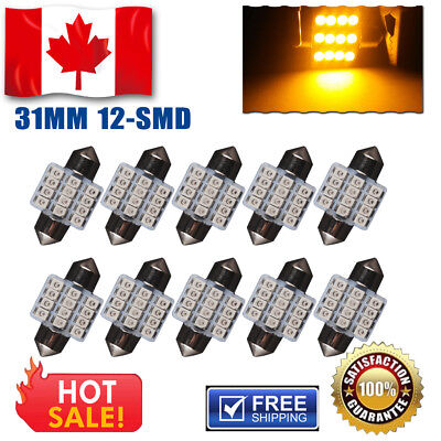 2x Canbus White T10 High Power 5630 SMD Wedge bulbs W5W 168 Error Free LED Light