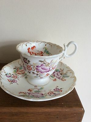 Antique Cup And Saucer