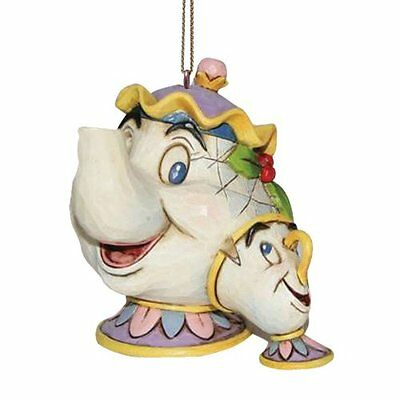 Disney Traditions Beauty and the Beast Mrs Potts Chip Hanging Ornament