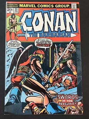 Conan #23 MARVEL 1973 - NEAR MINT 1st App Red Sonja! The Barbarian HIGH GRADE NM