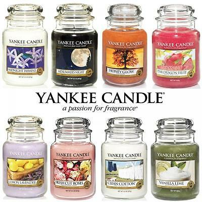 YANKEE CANDLES LARGE JAR CANDLE 623grams USA NO.1 BEST SELLING WORLDWIDE FRUITY